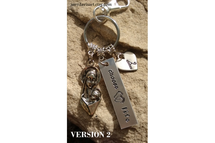 Christian keychain