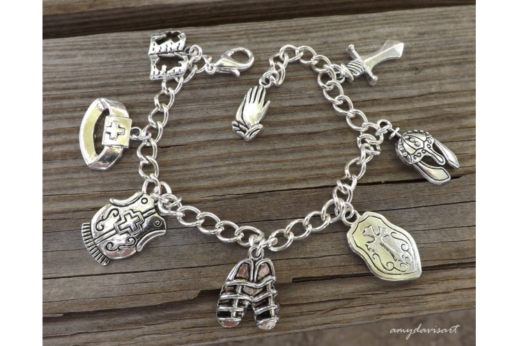 Put on the Full Armor of God Christian Jewelry
