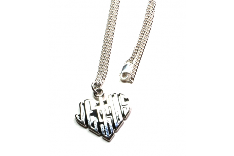 Sterling silver Christian necklace