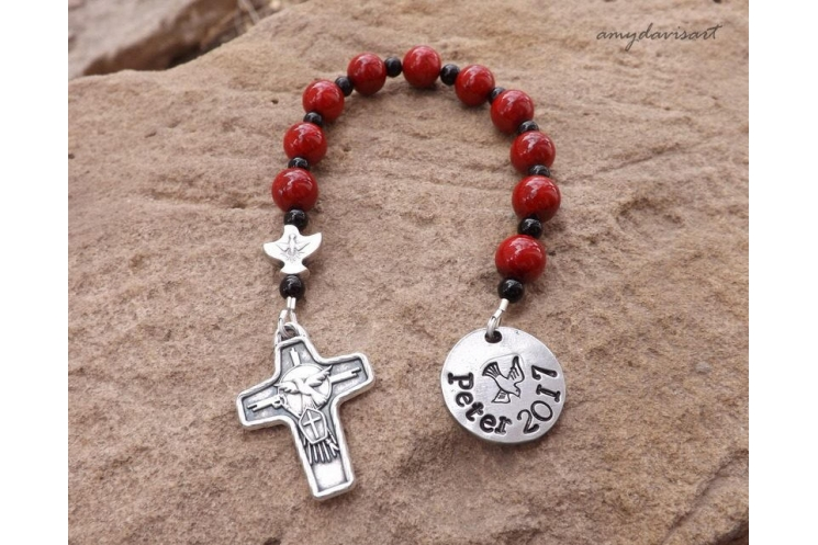 One Decade Personalized Rosary