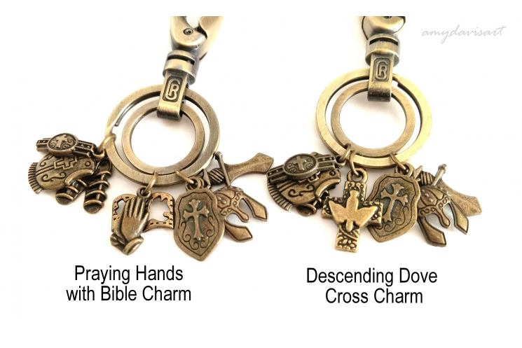 Armor of God keychain