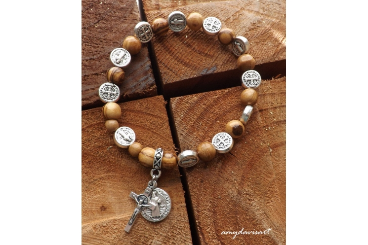 Catholic One Decade Rosary Bracelet