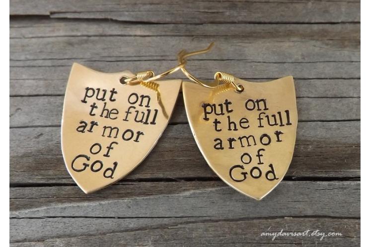 Ephesians 6 Earrings