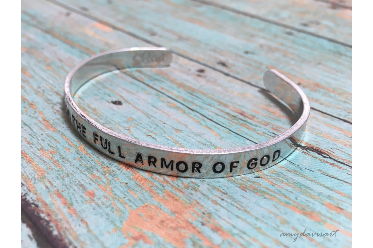 Ephesians 6 cuff bracelet