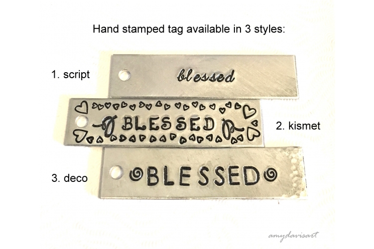 Three blessed pendants to choose from
