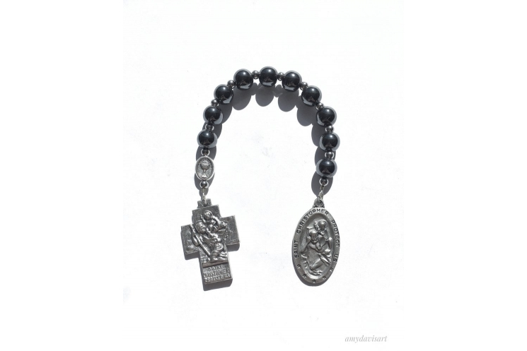 St Christopher One Decade Rosary for Men