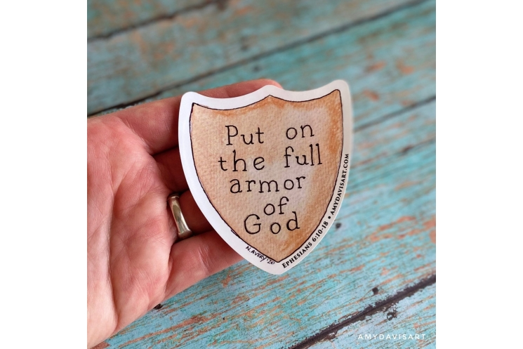 Ephesians 6 Full Armor of God Christian Decal