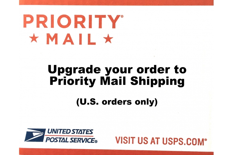 Priority Mail Upgrade (U.S. orders only)