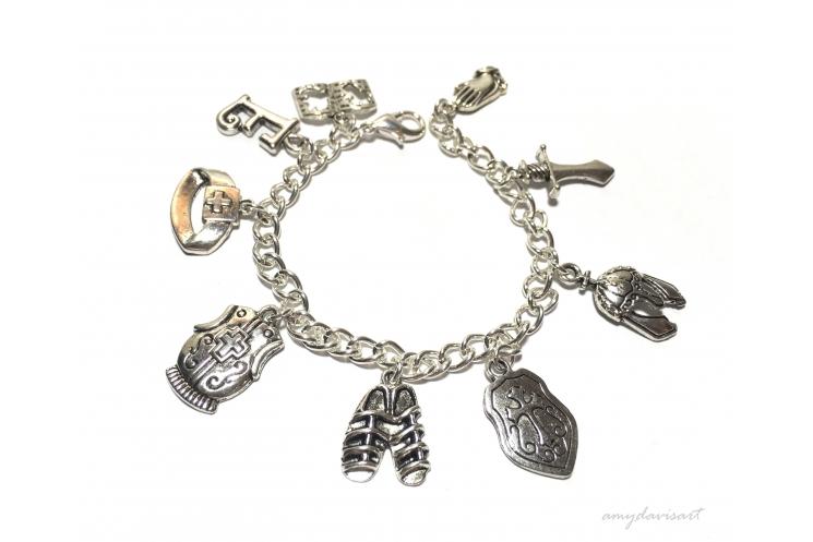 Christian Jewelry Ephesians 6 Charm Bracelet