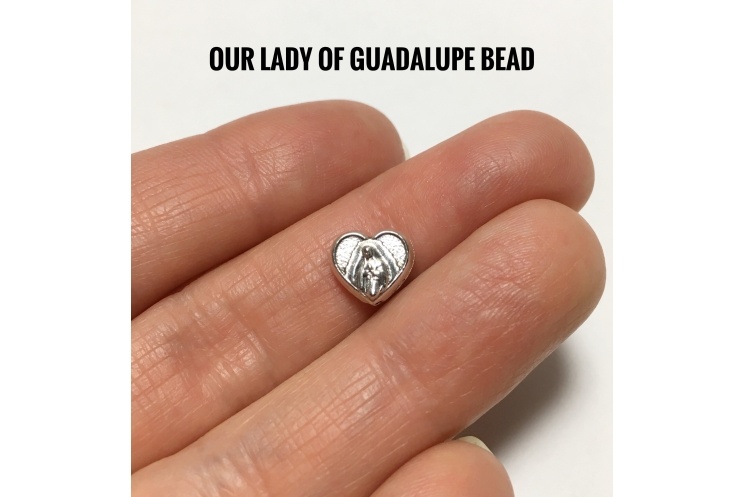 Our Father Bead Choices - Our Lady of Guadalupe