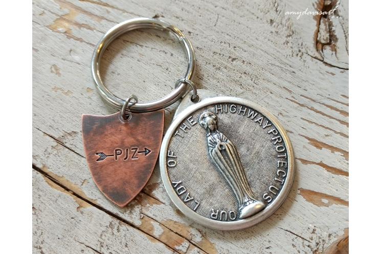Personalized Christian Keychain