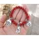 Beaded mother's bracelet