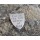 Ephesians 6 shield of faith hand stamped pocket coin put on the full armor of Go