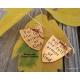Ephesians 6 shield of faith earrings