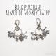 Bulk Purchase Armor of God Keychains