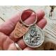 St Christopher Armor of God Christian Keychain