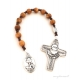 Olive Wood Rosary (one decade travel rosary)