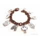 Christian charm bracelet Ephesians 6 full armor of God