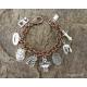 Full armor of God charm bracelet