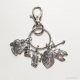 Put on the full armor of God keychain with lobster clasp by amydavisart
