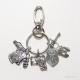 Put on the full armor of God keychain with oval clasp by amydavisart
