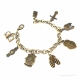 Stand firm in the Lord! Christian charm bracelet
