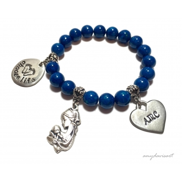 Choose Life Charm Bracelet ~ Personalized Christian Jewelry