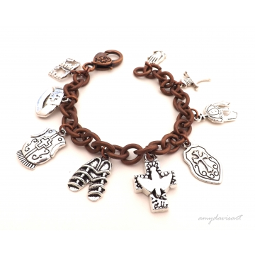 Full Armor of God Christian Bracelet