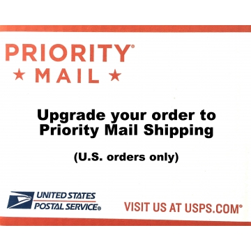 Shipping Upgrade - Priority Mail - For U.S. Orders Only