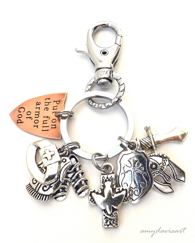 Christian Keychain Ephesians 6 Full Armor of God